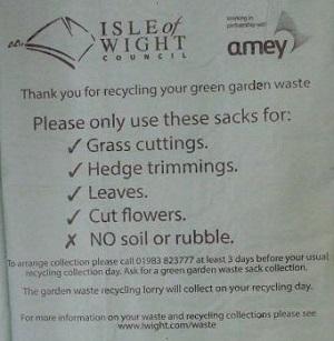 Green Garden Bags