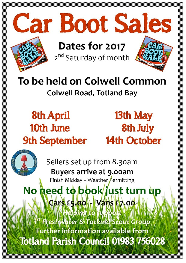 Isle Of Wight Car Boot Sales